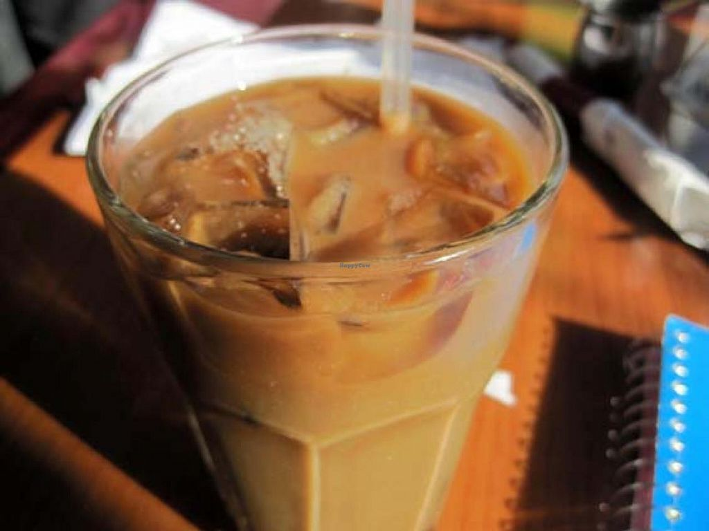 """Photo of The Red Lentil  by <a href=""""/members/profile/Babette"""">Babette</a> <br/>Iced Coffee <br/> January 14, 2014  - <a href='/contact/abuse/image/18827/62480'>Report</a>"""
