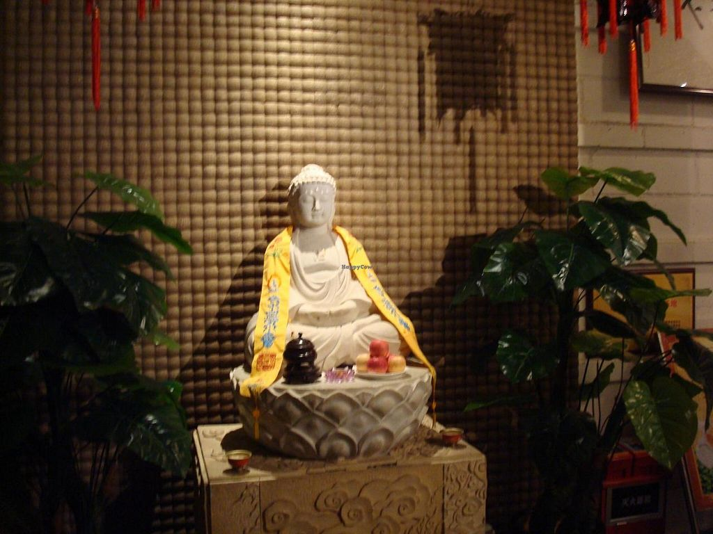 """Photo of Yi Xin Vegetarian - Tianhe District  by <a href=""""/members/profile/BayHabourVege"""">BayHabourVege</a> <br/>Buddha statue <br/> April 30, 2014  - <a href='/contact/abuse/image/18846/69018'>Report</a>"""