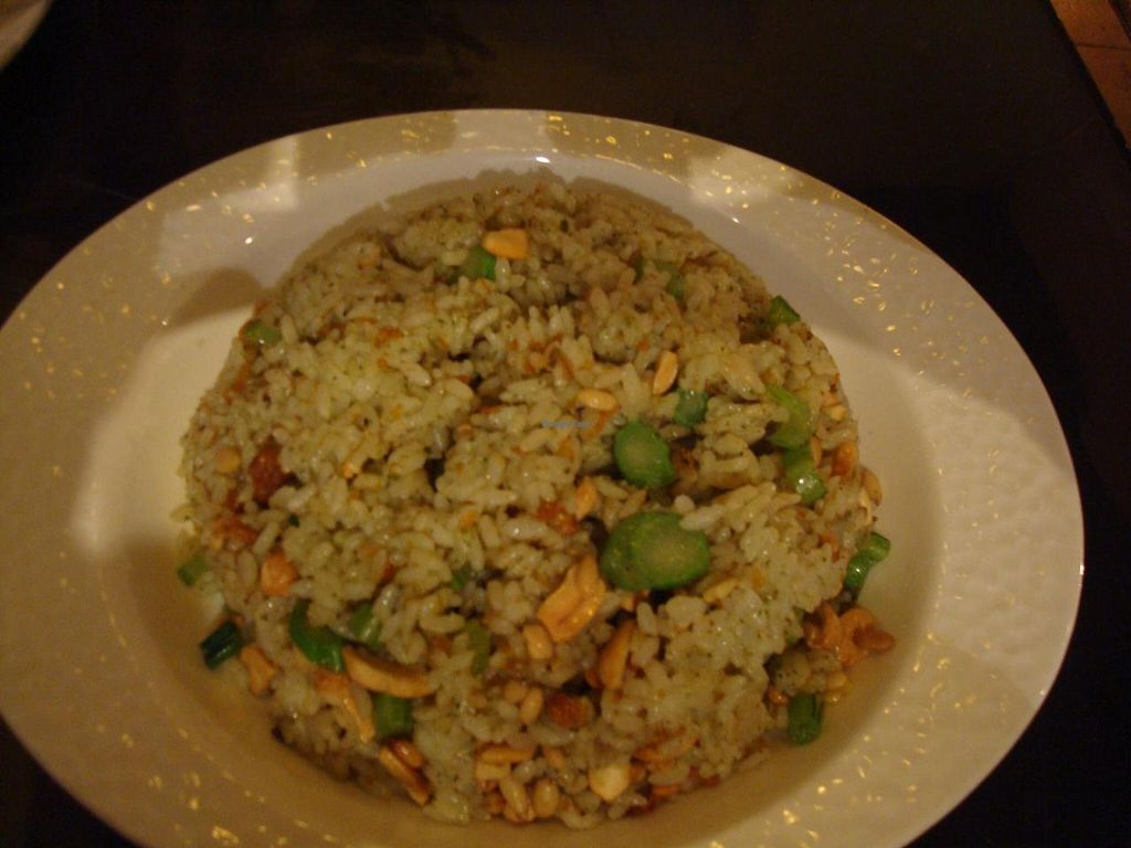 """Photo of Yi Xin Vegetarian - Tianhe District  by <a href=""""/members/profile/BayHabourVege"""">BayHabourVege</a> <br/>Fried rice <br/> April 30, 2014  - <a href='/contact/abuse/image/18846/69020'>Report</a>"""