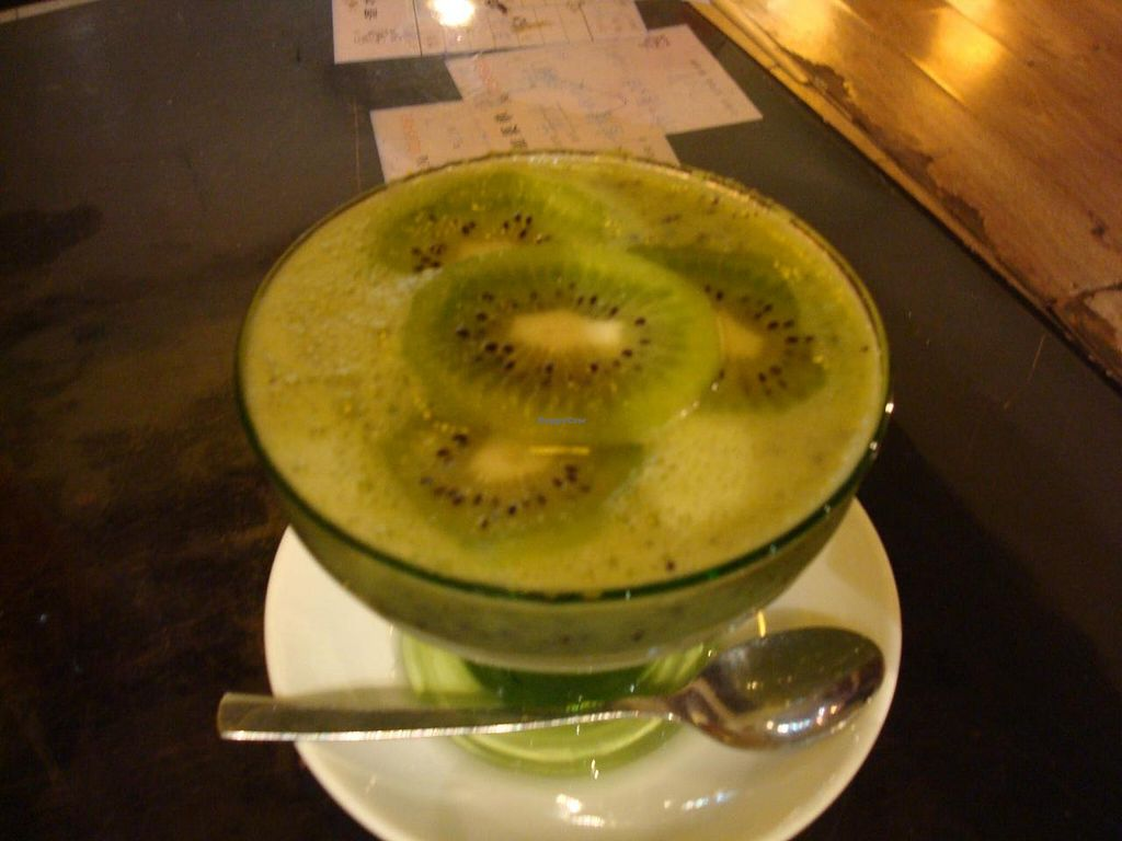 """Photo of Yi Xin Vegetarian - Tianhe District  by <a href=""""/members/profile/BayHabourVege"""">BayHabourVege</a> <br/>kiwi fruit sweet stuff <br/> April 30, 2014  - <a href='/contact/abuse/image/18846/69022'>Report</a>"""