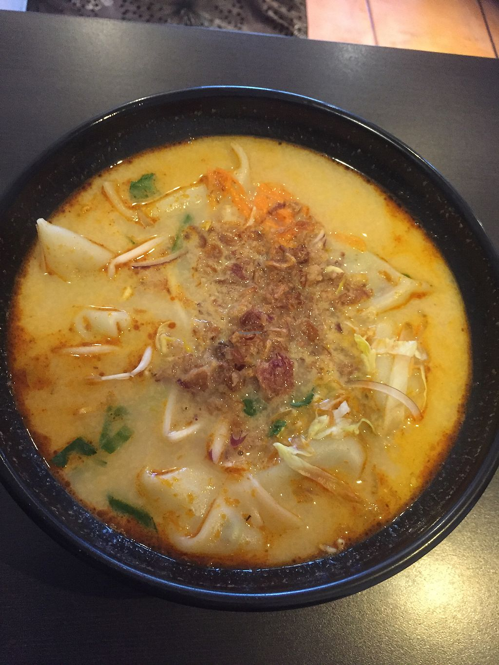 """Photo of Dumpling World  by <a href=""""/members/profile/healthierlaura"""">healthierlaura</a> <br/>the dumplings full of juice from laksa not much veggies inside on them :-( <br/> July 10, 2017  - <a href='/contact/abuse/image/18856/278810'>Report</a>"""