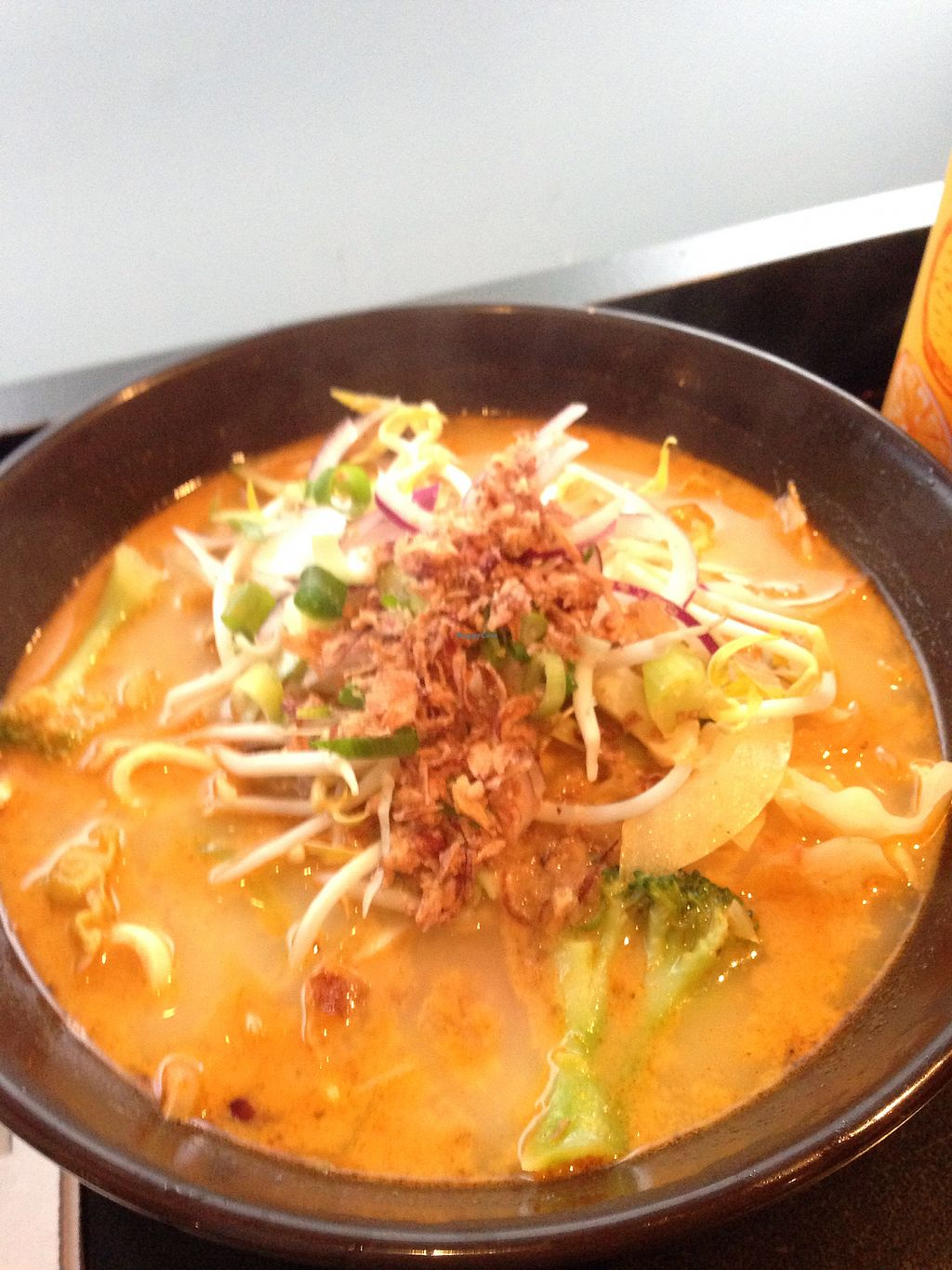 """Photo of Dumpling World  by <a href=""""/members/profile/CatDouglas"""">CatDouglas</a> <br/>vegetarian laksa <br/> July 18, 2017  - <a href='/contact/abuse/image/18856/281730'>Report</a>"""