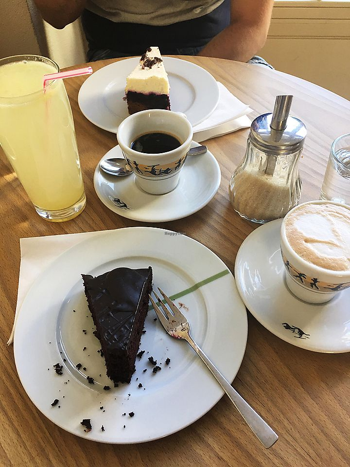 "Photo of Cafe Kieselstein  by <a href=""/members/profile/Vladimira_Nagyova"">Vladimira_Nagyova</a> <br/>Chocolate cake and Lemon-ginger lemonade <br/> May 21, 2018  - <a href='/contact/abuse/image/18878/402958'>Report</a>"