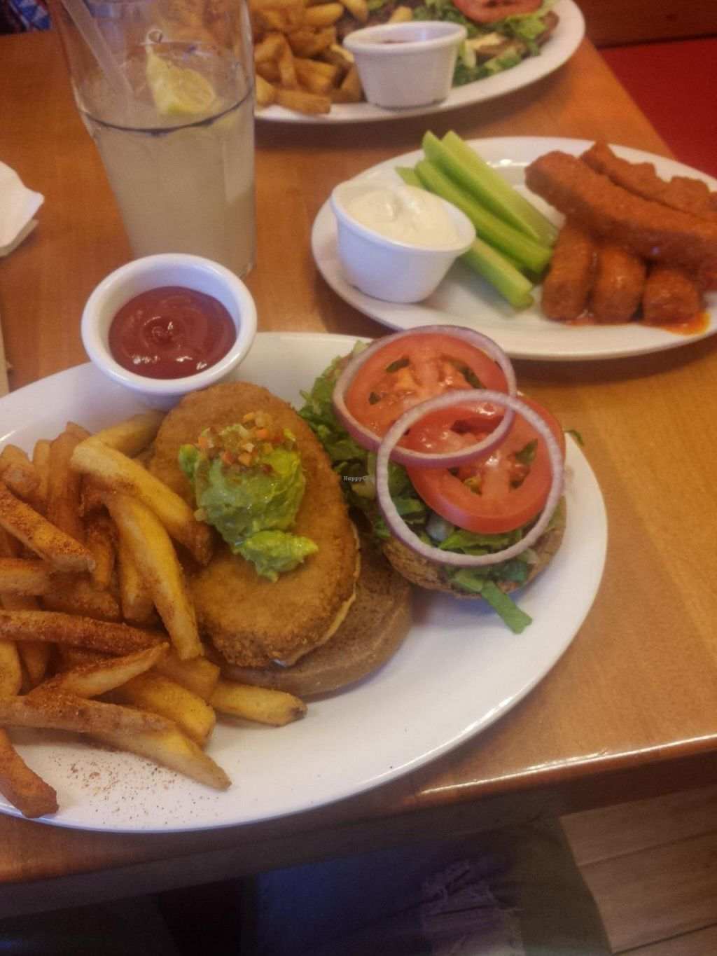 """Photo of Veggie Grill  by <a href=""""/members/profile/nstrawbr"""">nstrawbr</a> <br/>Santa Fe Crispy Chicken with Buffalo Wings <br/> June 6, 2014  - <a href='/contact/abuse/image/18882/71477'>Report</a>"""