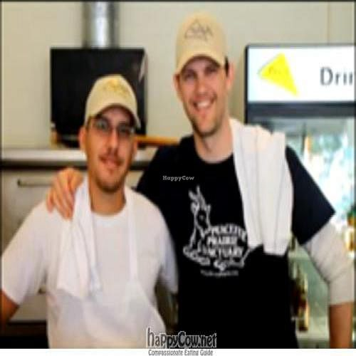 """Photo of CLOSED: Peace o' Pie  by <a href=""""/members/profile/vegetarian"""">vegetarian</a> <br/>Eric Prescott and Miguel Danielson, co-owners of Peace o' Pie <br/> December 11, 2010  - <a href='/contact/abuse/image/18899/6668'>Report</a>"""