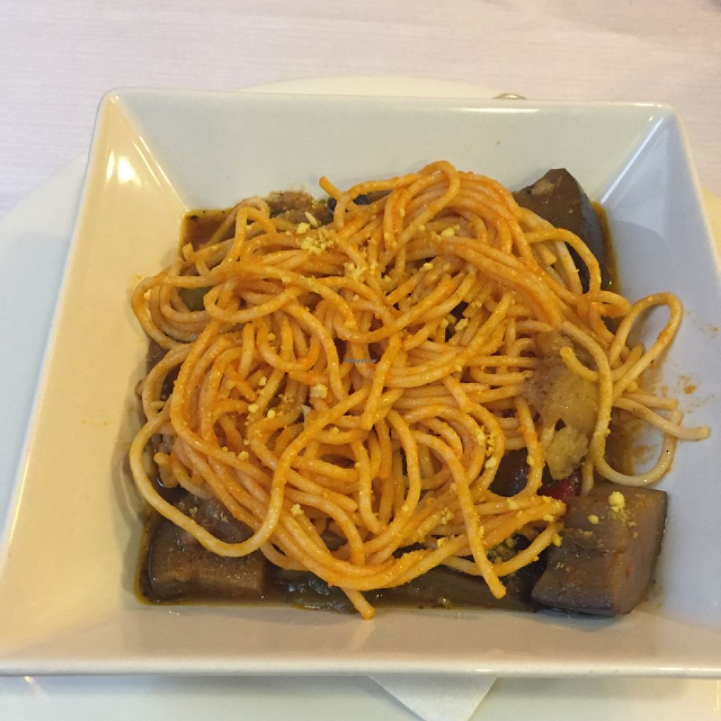 "Photo of Landare  by <a href=""/members/profile/kulwant"">kulwant</a> <br/>caponata de berenjena con pasta <br/> October 3, 2015  - <a href='/contact/abuse/image/18912/119948'>Report</a>"