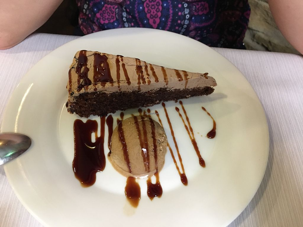 "Photo of Landare  by <a href=""/members/profile/vegan%20frog"">vegan frog</a> <br/>Chocolate cake with ice cream <br/> June 20, 2017  - <a href='/contact/abuse/image/18912/271440'>Report</a>"