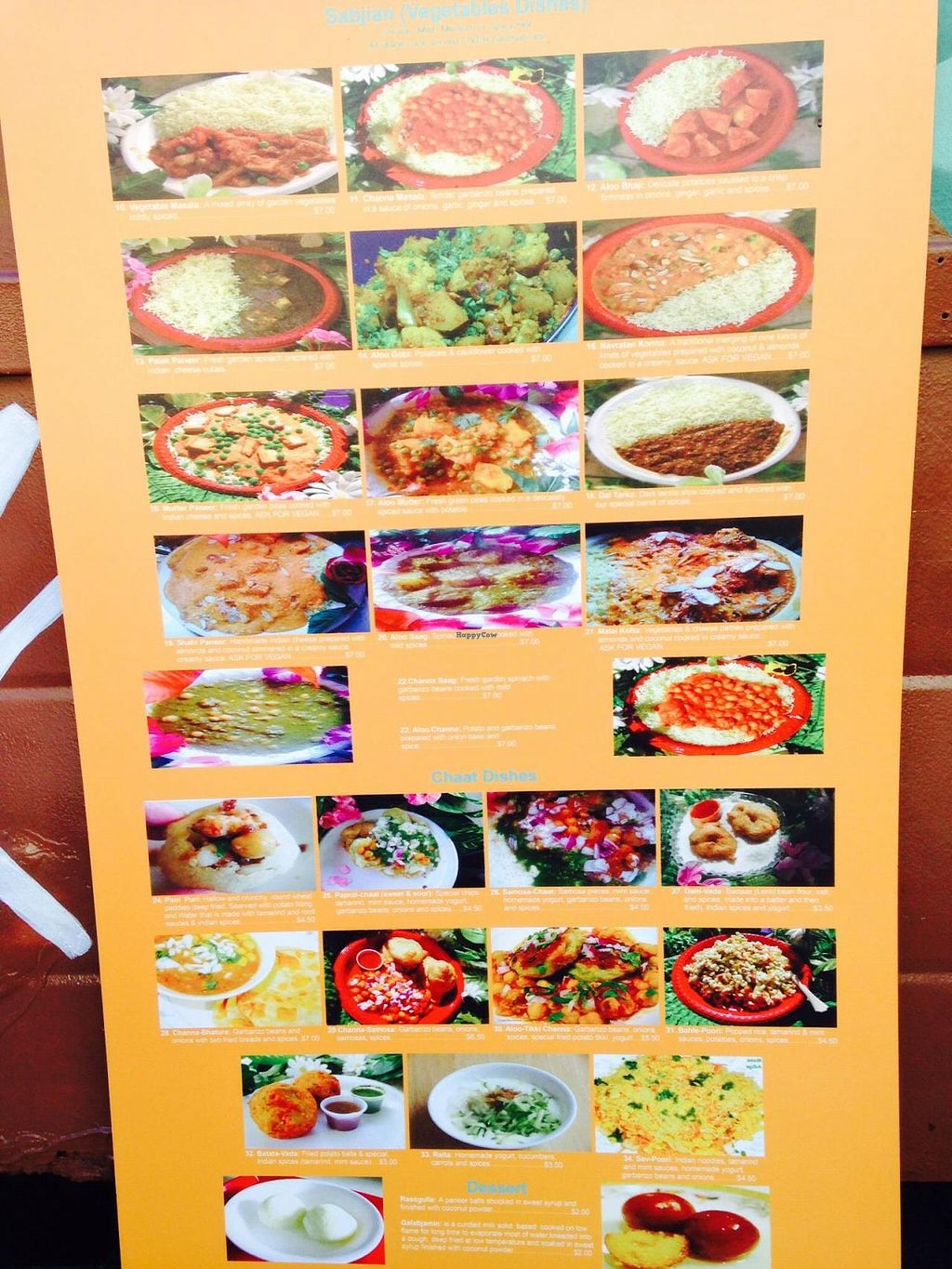 """Photo of Bombay Chaat House  by <a href=""""/members/profile/cookiem"""">cookiem</a> <br/>Menu <br/> November 16, 2014  - <a href='/contact/abuse/image/18917/85831'>Report</a>"""
