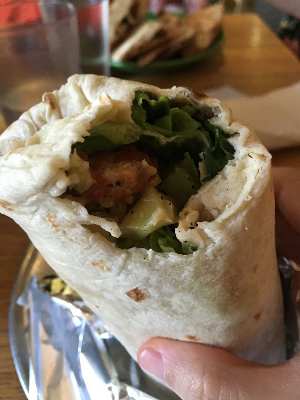 "Photo of Laughing Planet Cafe - Ecotrust  by <a href=""/members/profile/slo0go"">slo0go</a> <br/>Lentil burrito  <br/> March 23, 2018  - <a href='/contact/abuse/image/18927/374639'>Report</a>"