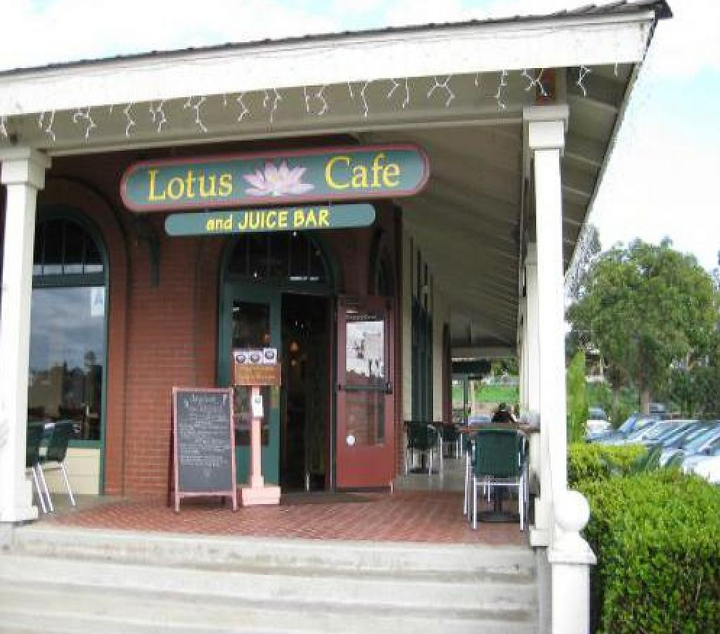 """Photo of Lotus Cafe and Juice Bar  by <a href=""""/members/profile/johanna~Lotus%20Cafe"""">johanna~Lotus Cafe</a> <br/>Located in the Lumberyard, Old Downtown Encinitas, South Coast Highway 101 opposite 'G' Street <br/> February 25, 2012  - <a href='/contact/abuse/image/18943/223273'>Report</a>"""