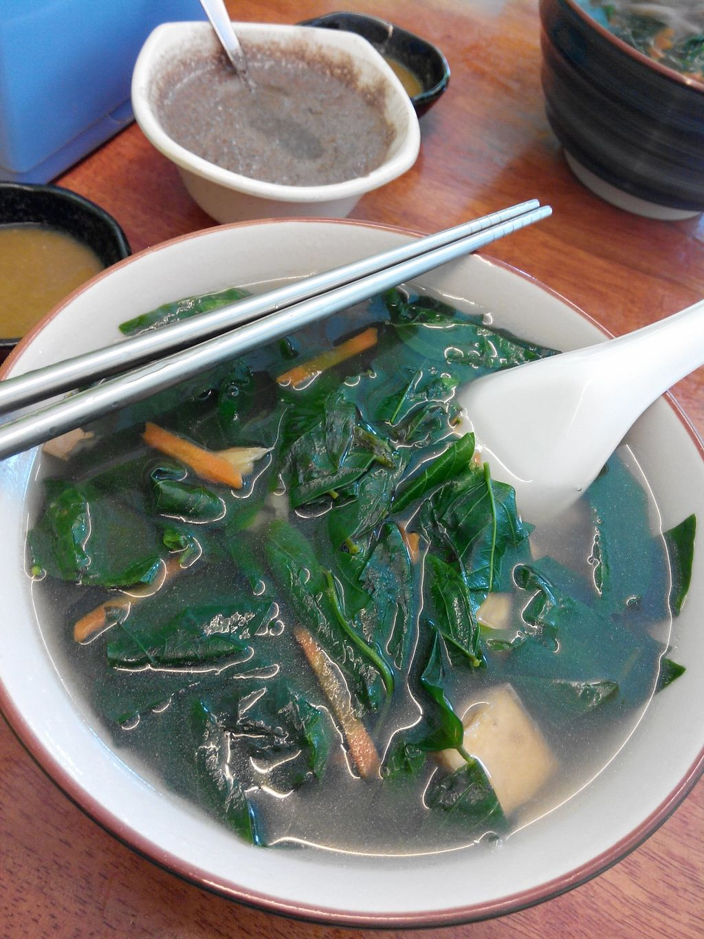 """Photo of New Giant Bowl Vegetarian Restaurant  by <a href=""""/members/profile/samsunggalaxy"""">samsunggalaxy</a> <br/>fresh vegetarian <br/> September 15, 2015  - <a href='/contact/abuse/image/18975/117912'>Report</a>"""
