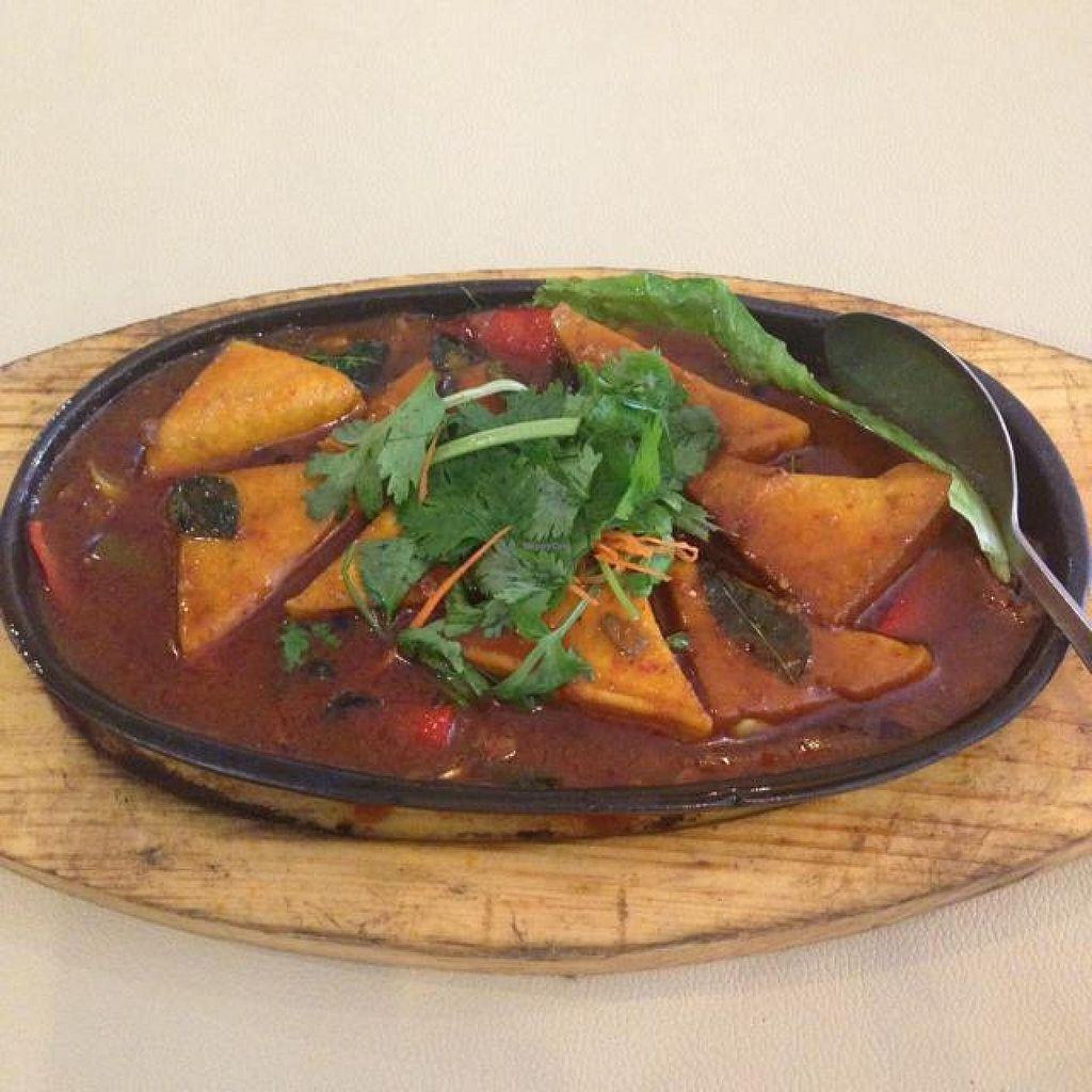 """Photo of Nature's Vegetarian Restaurant  by <a href=""""/members/profile/AndyT"""">AndyT</a> <br/>Spicy Tofu <br/> June 5, 2014  - <a href='/contact/abuse/image/18976/71439'>Report</a>"""