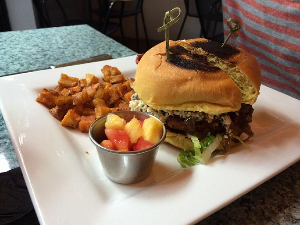 """Photo of Darbster - West Palm Beach  by <a href=""""/members/profile/kmilitello"""">kmilitello</a> <br/>Brunch Black & Bleu Burger <br/> February 25, 2014  - <a href='/contact/abuse/image/19007/64802'>Report</a>"""
