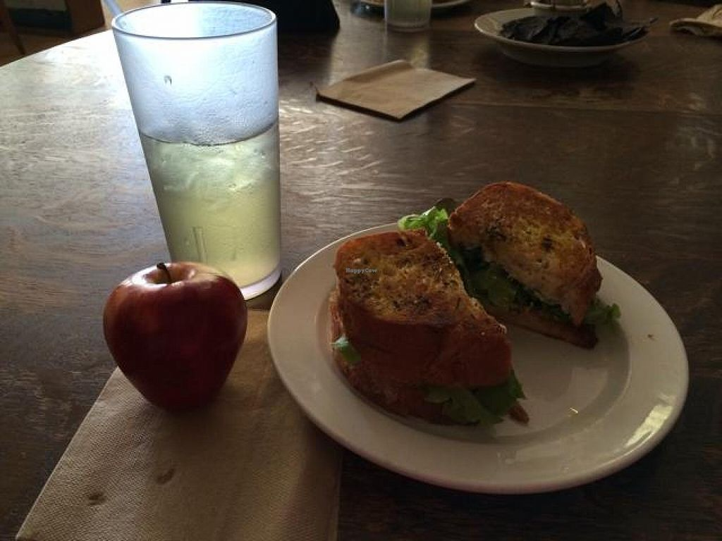"Photo of Paradigm Coffee & Music  by <a href=""/members/profile/tauberl"">tauberl</a> <br/>vegan 'egg salad' sandwich  <br/> August 31, 2014  - <a href='/contact/abuse/image/19045/78759'>Report</a>"