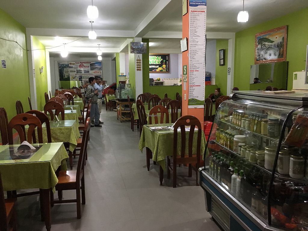 "Photo of Restaurant Vegetariano El Eden  by <a href=""/members/profile/peas-full"">peas-full</a> <br/>restaurant <br/> September 29, 2017  - <a href='/contact/abuse/image/19055/309545'>Report</a>"