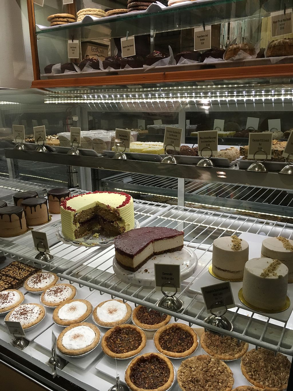 """Photo of Back To Eden Bakery  by <a href=""""/members/profile/DianeH"""">DianeH</a> <br/>So many tasty choices! <br/> December 2, 2017  - <a href='/contact/abuse/image/19063/331351'>Report</a>"""