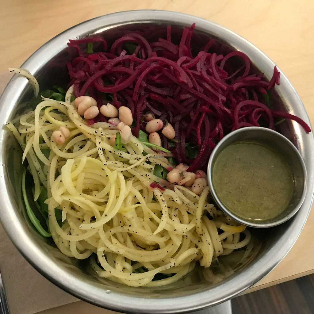 """Photo of Back To Eden Bakery  by <a href=""""/members/profile/AmyBubbles"""">AmyBubbles</a> <br/>The salads are huge & the dressings are out of this world flavorful! <br/> January 4, 2018  - <a href='/contact/abuse/image/19063/342748'>Report</a>"""