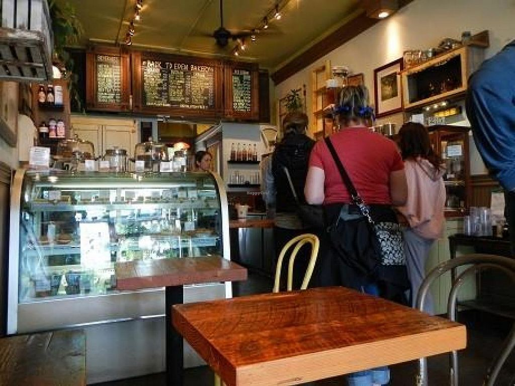"""Photo of Back To Eden Bakery  by <a href=""""/members/profile/EverydayTastiness"""">EverydayTastiness</a> <br/>inside <br/> September 24, 2014  - <a href='/contact/abuse/image/19063/80979'>Report</a>"""