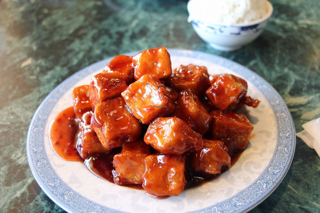 """Photo of Chang's Garden  by <a href=""""/members/profile/Drhannahj"""">Drhannahj</a> <br/>General Tsao's Tofu <br/> August 6, 2017  - <a href='/contact/abuse/image/19133/289759'>Report</a>"""