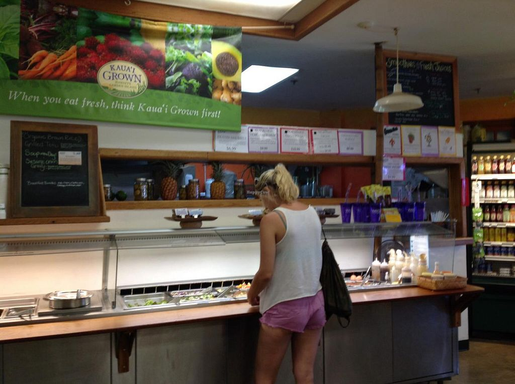 """Photo of Papaya's Natural Foods  by <a href=""""/members/profile/FlorenceVincent"""">FlorenceVincent</a> <br/>Salad bar and Juice bar <br/> January 12, 2014  - <a href='/contact/abuse/image/1914/62394'>Report</a>"""