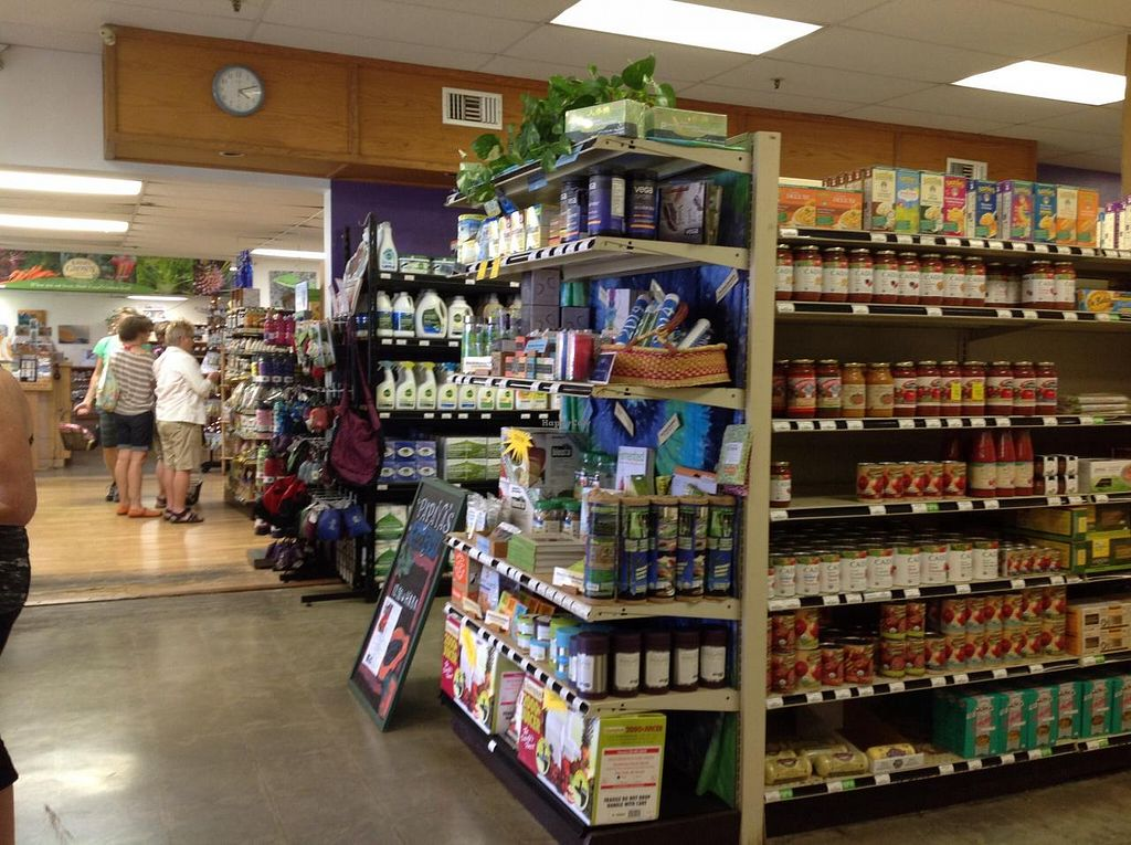 """Photo of Papaya's Natural Foods  by <a href=""""/members/profile/FlorenceVincent"""">FlorenceVincent</a> <br/>The front of the store. It has three different areas.  <br/> January 12, 2014  - <a href='/contact/abuse/image/1914/62395'>Report</a>"""