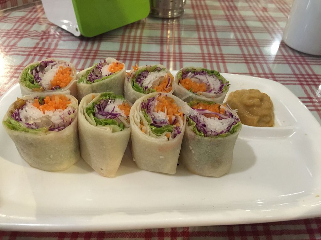 """Photo of Organic Freshmart and Restaurant  by <a href=""""/members/profile/macnothi"""">macnothi</a> <br/>Vietnam style rolls with Apple horseradish  <br/> December 8, 2015  - <a href='/contact/abuse/image/19169/127589'>Report</a>"""