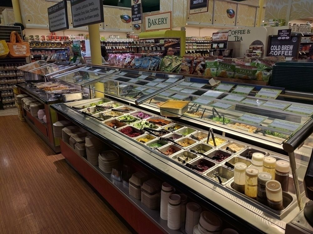 """Photo of Down to Earth Deli Cafe  by <a href=""""/members/profile/mrd"""">mrd</a> <br/>Buffet has salads too <br/> October 23, 2016  - <a href='/contact/abuse/image/1918/183808'>Report</a>"""