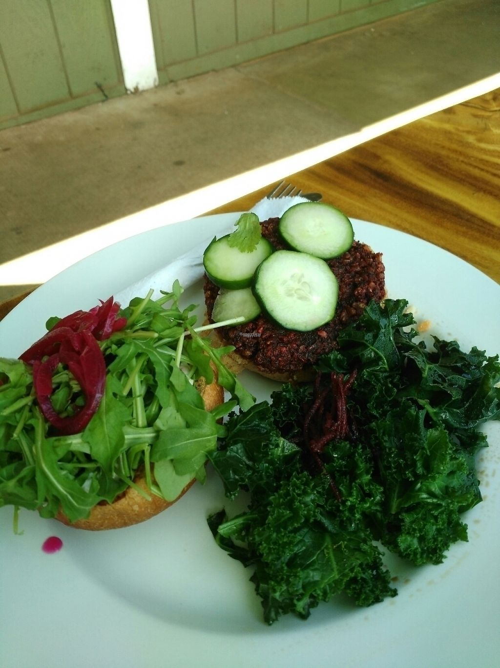 """Photo of The Beet Box Cafe  by <a href=""""/members/profile/Thienandjessie"""">Thienandjessie</a> <br/>hello burger <br/> March 14, 2017  - <a href='/contact/abuse/image/1925/236588'>Report</a>"""