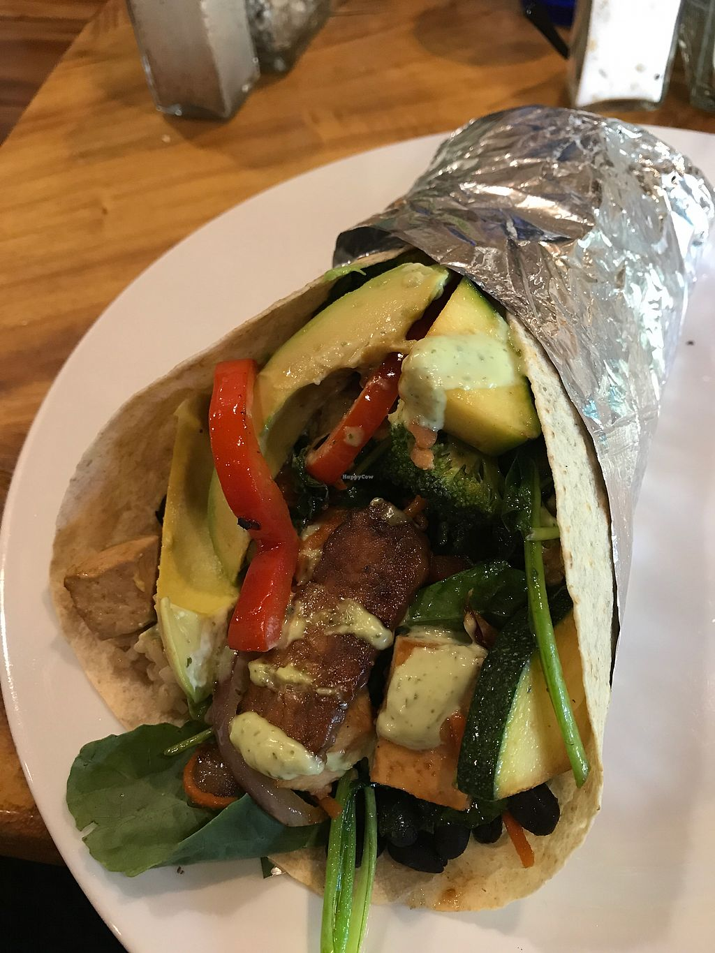 """Photo of The Beet Box Cafe  by <a href=""""/members/profile/Kimbala"""">Kimbala</a> <br/>Vegan Breakfast Burrito <br/> August 28, 2017  - <a href='/contact/abuse/image/1925/298185'>Report</a>"""