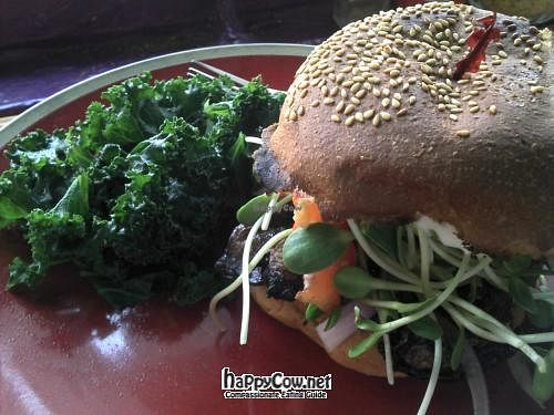Photo of The Beet Box Cafe  by krazykat <br/>Portabella Stache'wich    <br/> June 17, 2012  - <a href='/contact/abuse/image/1925/33418'>Report</a>