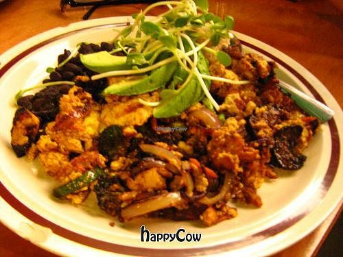 """Photo of The Beet Box Cafe  by <a href=""""/members/profile/DollyWiggles"""">DollyWiggles</a> <br/>Zen tofu scramble <br/> November 11, 2012  - <a href='/contact/abuse/image/1925/40147'>Report</a>"""
