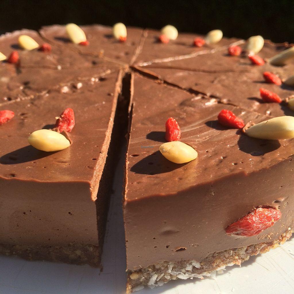 "Photo of Bio trgovina Jablana  by <a href=""/members/profile/Akira"">Akira</a> <br/>Daily fresh organic vegan raw chocolate cake <br/> September 30, 2015  - <a href='/contact/abuse/image/19266/119664'>Report</a>"