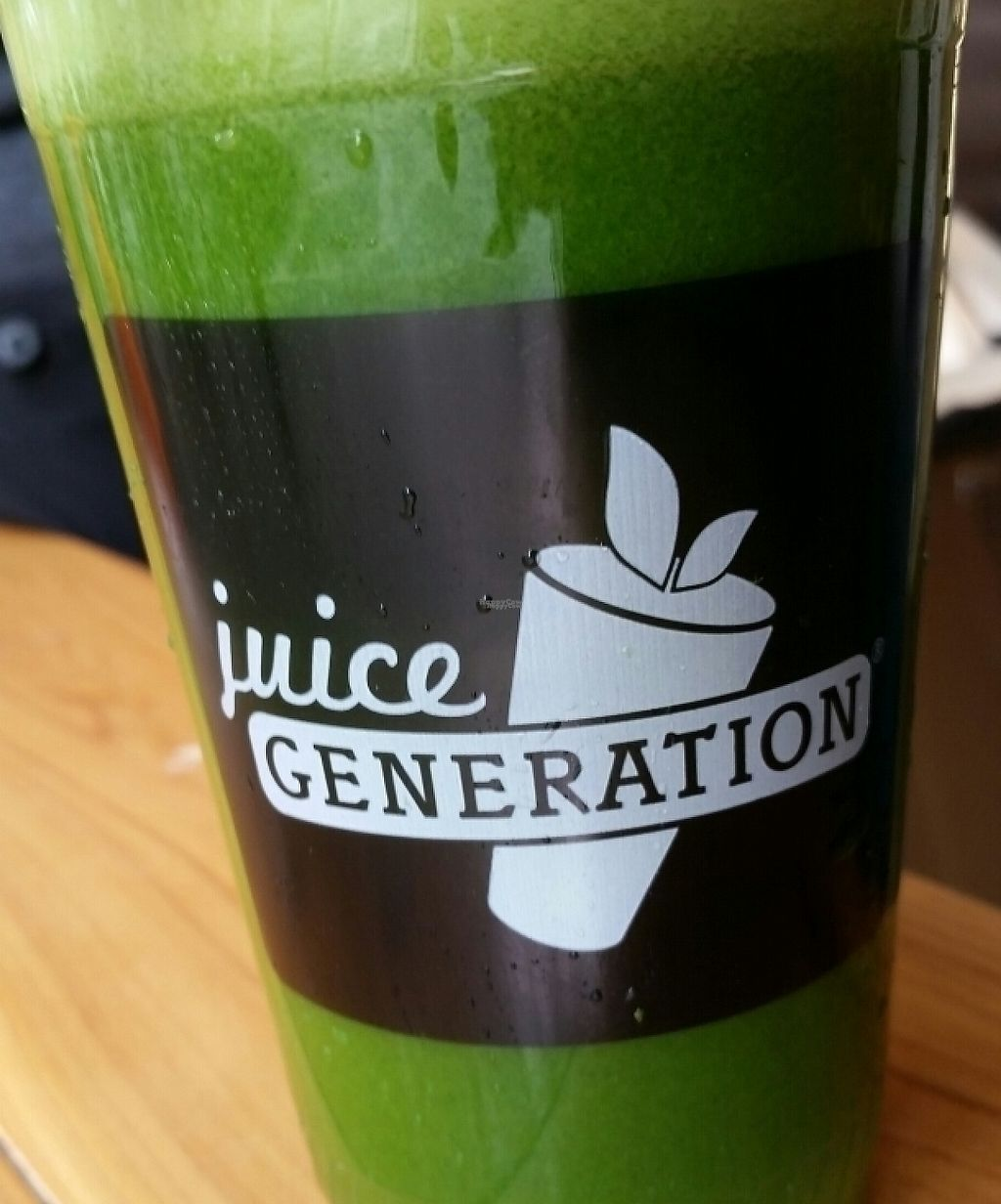 """Photo of Juice Generation - 9th Ave  by <a href=""""/members/profile/eric"""">eric</a> <br/>supa dupa greens <br/> September 9, 2016  - <a href='/contact/abuse/image/19301/212553'>Report</a>"""