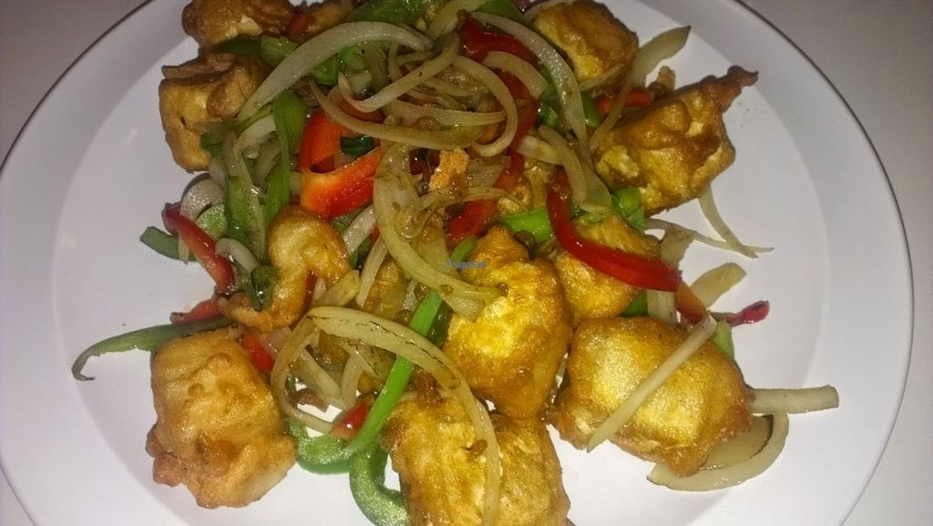 """Photo of Loving Hut - Houston  by <a href=""""/members/profile/veggie_htx"""">veggie_htx</a> <br/>Saigon crispy tofu <br/> August 16, 2016  - <a href='/contact/abuse/image/19306/169325'>Report</a>"""