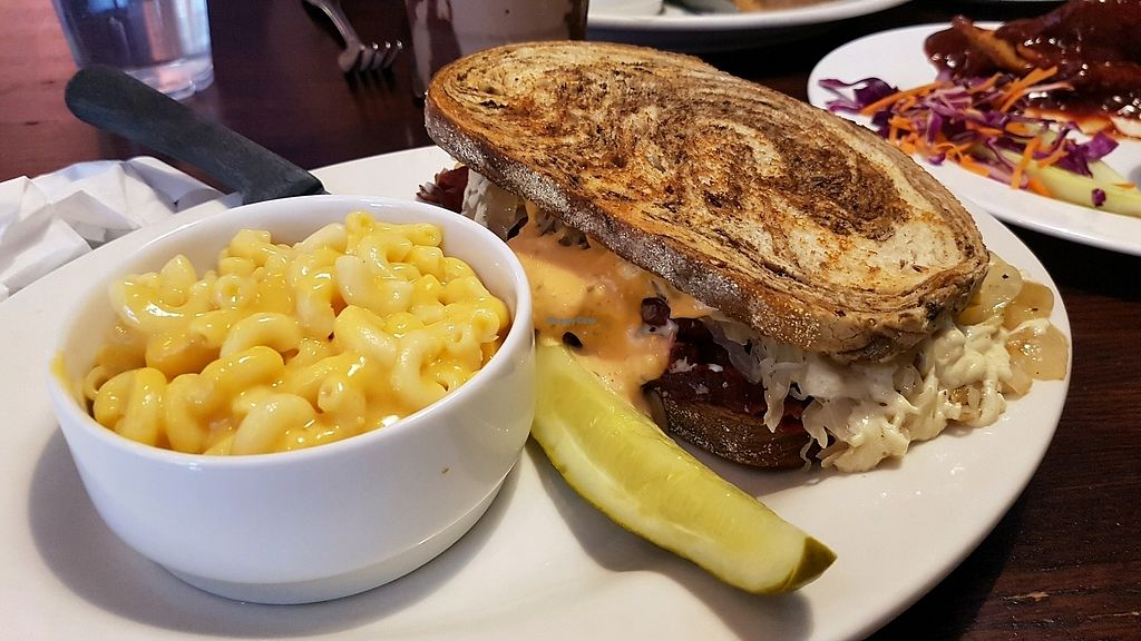 """Photo of The Chicago Diner  by <a href=""""/members/profile/hungryagnes"""">hungryagnes</a> <br/>lunch <br/> October 29, 2017  - <a href='/contact/abuse/image/1943/319797'>Report</a>"""