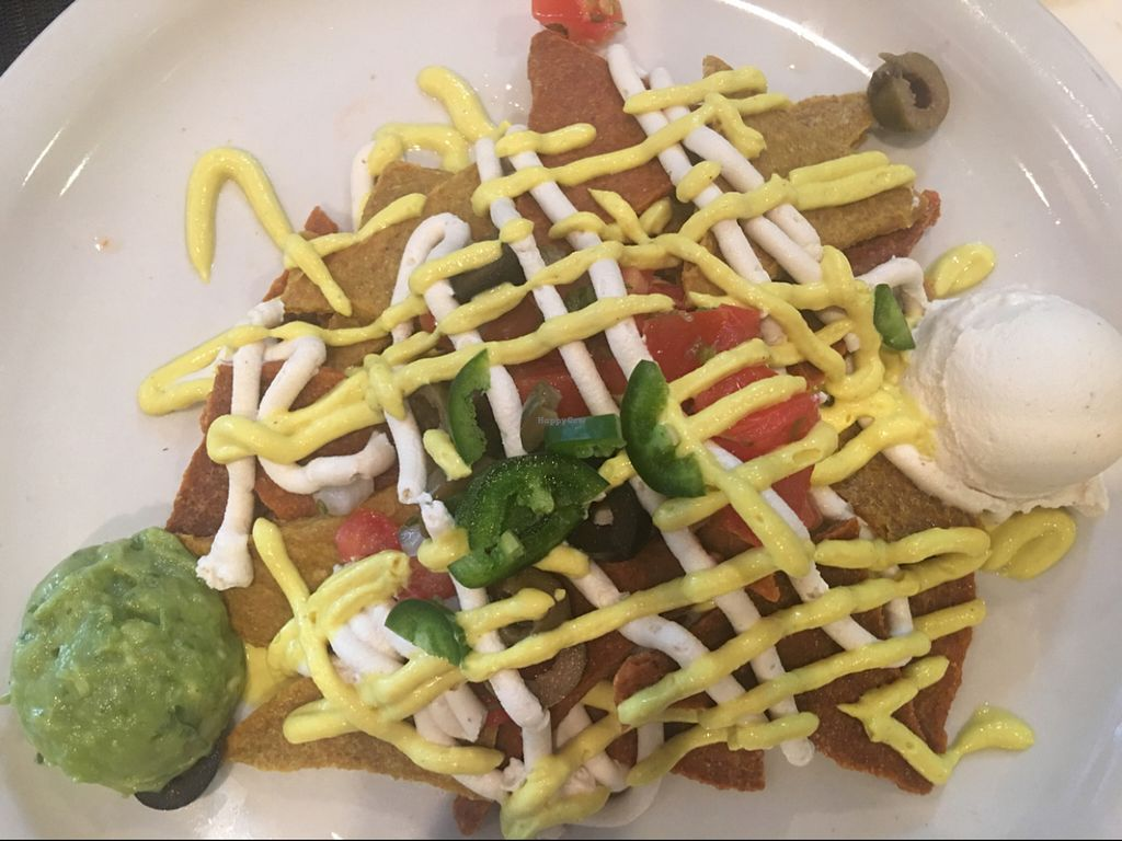 """Photo of CLOSED: Karyn's Raw - Fresh Corner  by <a href=""""/members/profile/Nourished"""">Nourished</a> <br/>raw nachos <br/> July 21, 2016  - <a href='/contact/abuse/image/1944/161267'>Report</a>"""