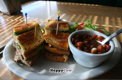"""Photo of Sluggo's North Vegetarian Cafe  by <a href=""""/members/profile/Raesock"""">Raesock</a> <br/>Culture Club Sandwich <br/> September 11, 2013  - <a href='/contact/abuse/image/19466/54796'>Report</a>"""