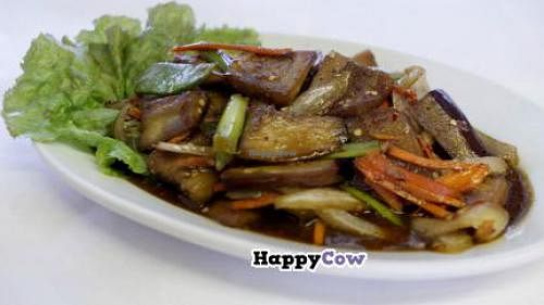 "Photo of Sunny's Korean Restaurant  by <a href=""/members/profile/JenniferKaminski22"">JenniferKaminski22</a> <br/>Gaagie - Sauteed Eggplant <br/> October 1, 2013  - <a href='/contact/abuse/image/19507/56109'>Report</a>"