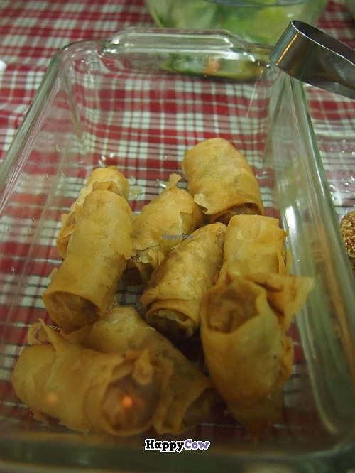 """Photo of Veggielicious - Your Vegetarian Fastfood  by <a href=""""/members/profile/mike_veg"""">mike_veg</a> <br/>lumpia shanghai and combo meal <br/> July 7, 2013  - <a href='/contact/abuse/image/19531/50901'>Report</a>"""