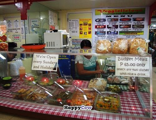 """Photo of Veggielicious - Your Vegetarian Fastfood  by <a href=""""/members/profile/mike_veg"""">mike_veg</a> <br/>food counter <br/> July 7, 2013  - <a href='/contact/abuse/image/19531/50911'>Report</a>"""