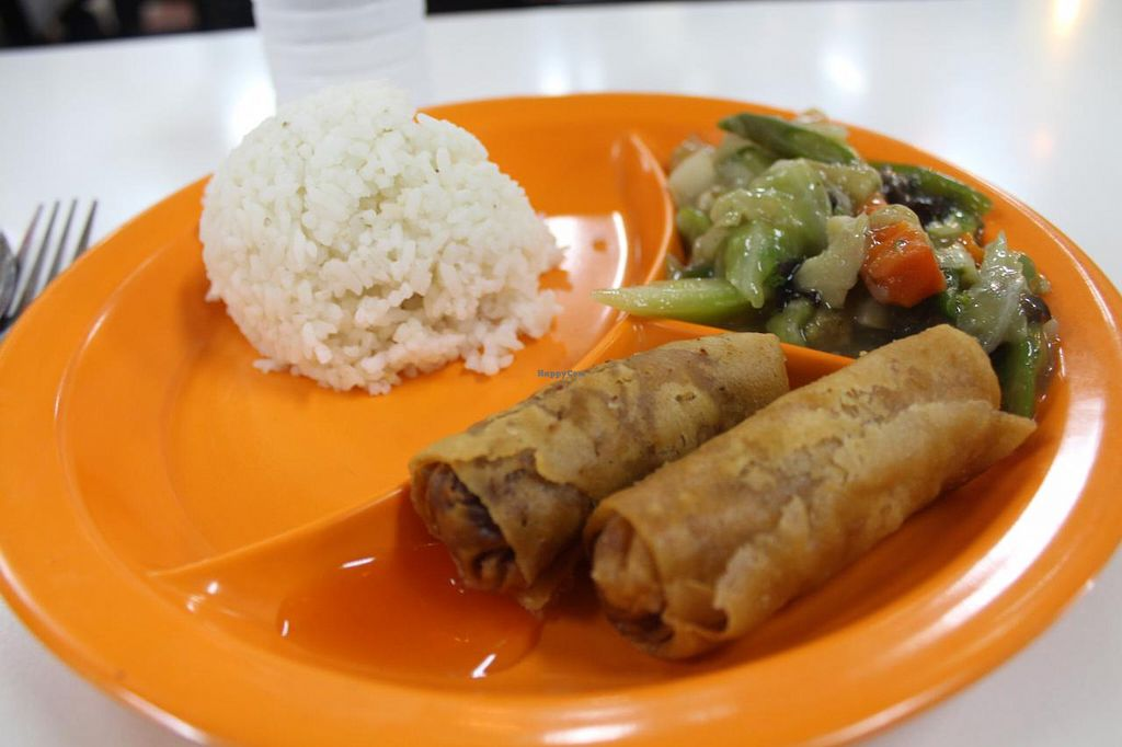 """Photo of Veggielicious - Your Vegetarian Fastfood  by <a href=""""/members/profile/kezia"""">kezia</a> <br/>Vegan meal at Veggielicious! Not so Veggielicious to be honest. This place really needs improvement <br/> January 30, 2015  - <a href='/contact/abuse/image/19531/91697'>Report</a>"""