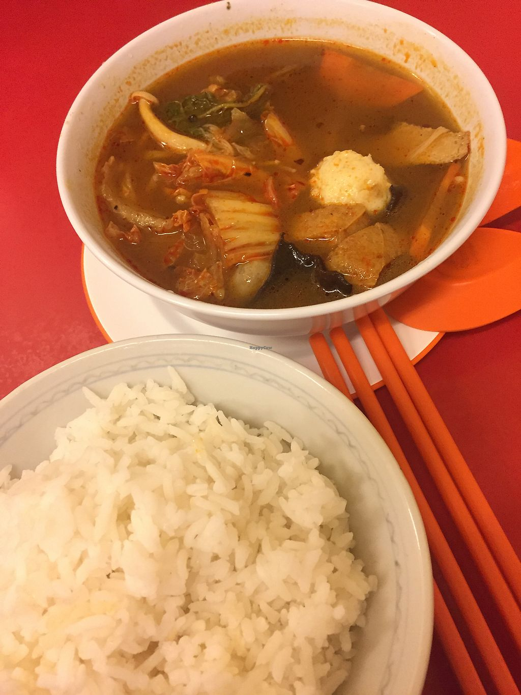 "Photo of Zhen Xiang Zhai  by <a href=""/members/profile/JanetLow"">JanetLow</a> <br/>Tomyam soup with white rice, super yummy! <br/> October 12, 2017  - <a href='/contact/abuse/image/19533/314398'>Report</a>"