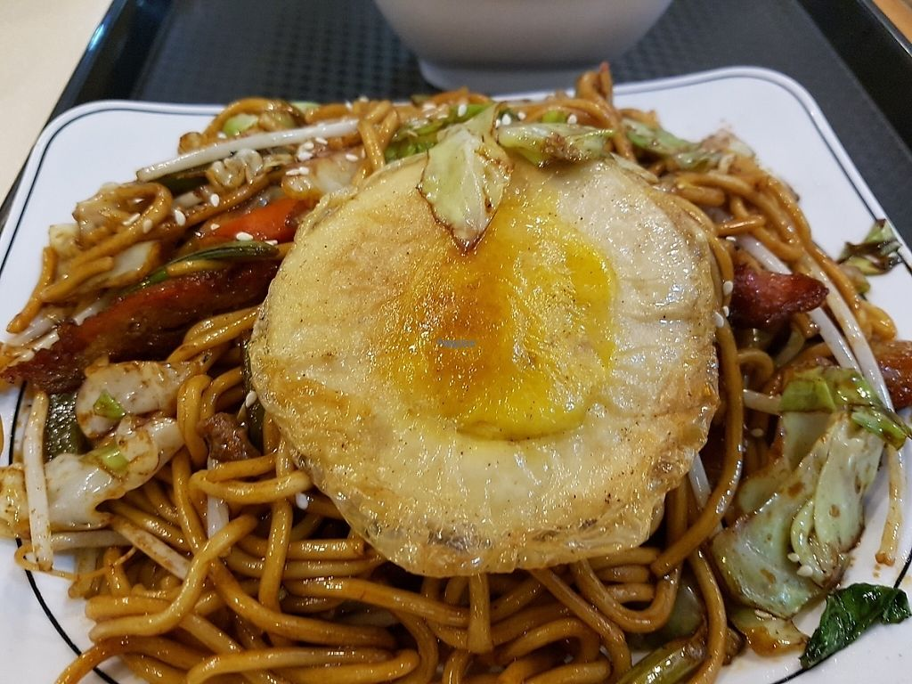 """Photo of Loving Hut - Wan Chai  by <a href=""""/members/profile/Rosa%20veg"""">Rosa veg</a> <br/>Noodles <br/> April 12, 2017  - <a href='/contact/abuse/image/19570/247197'>Report</a>"""