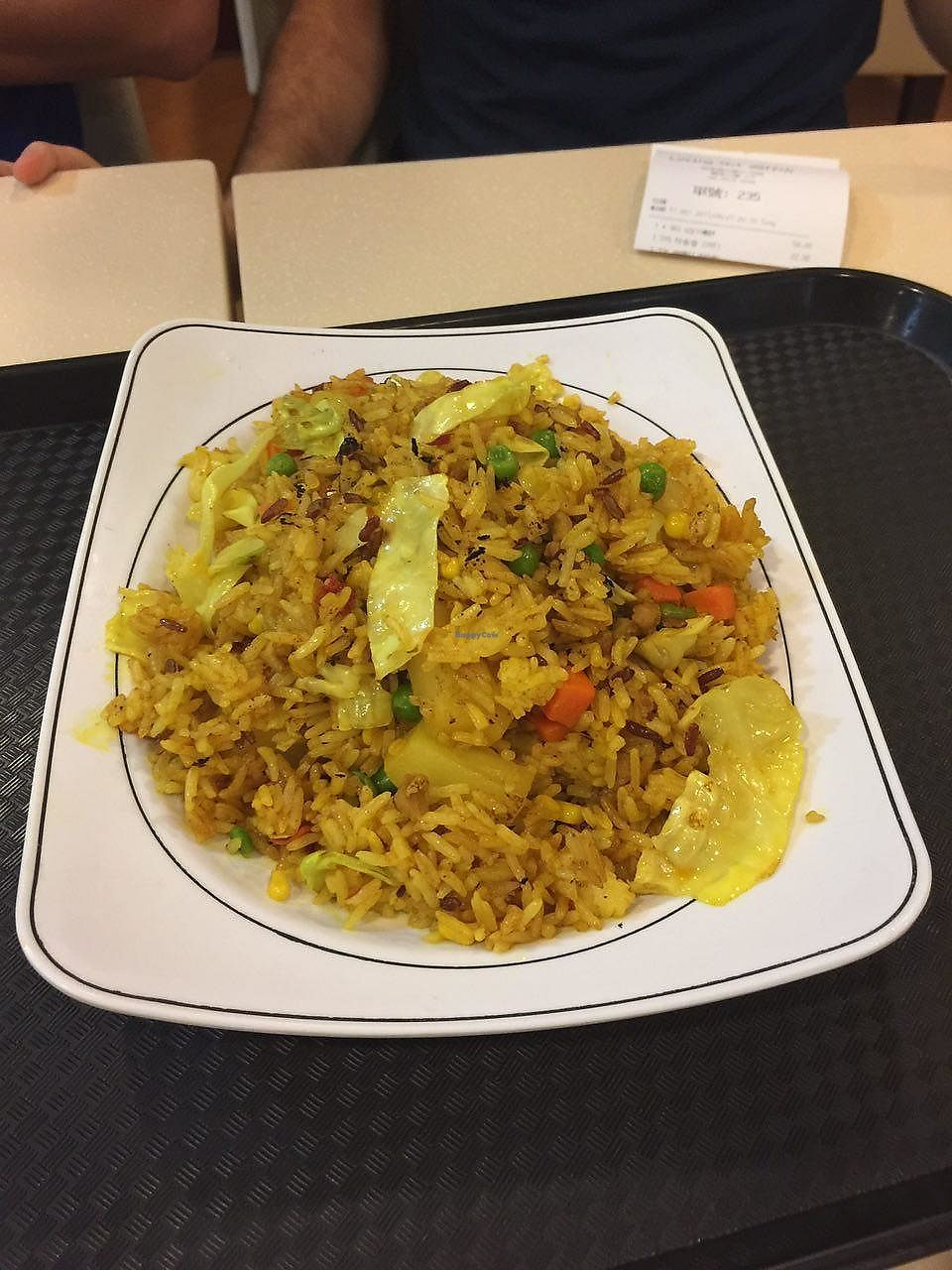 """Photo of Loving Hut - Wan Chai  by <a href=""""/members/profile/FlokiTheCat"""">FlokiTheCat</a> <br/>Fried curry rice <br/> June 29, 2017  - <a href='/contact/abuse/image/19570/274649'>Report</a>"""
