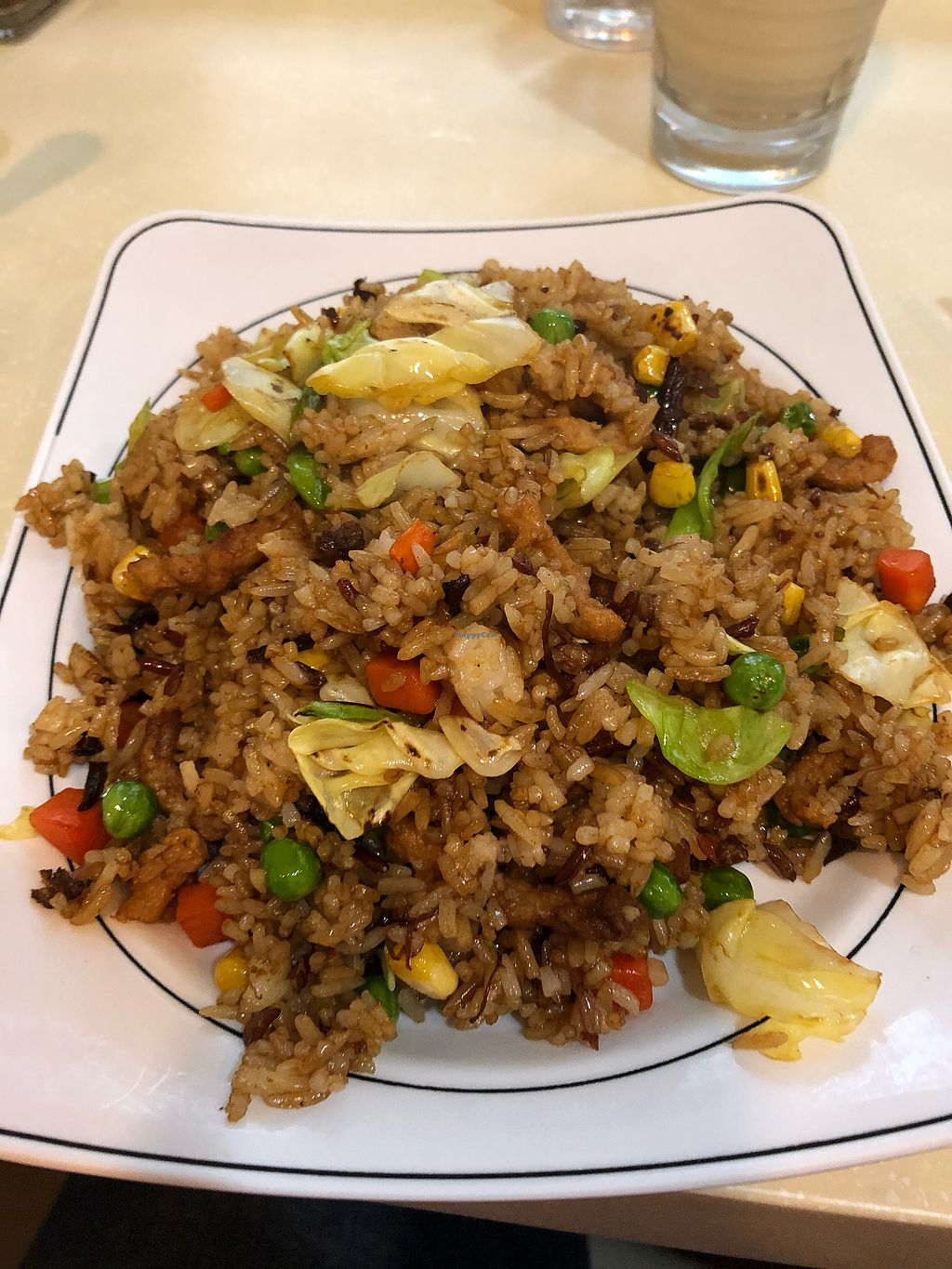 """Photo of Loving Hut - Wan Chai  by <a href=""""/members/profile/gen0co"""">gen0co</a> <br/>Fried rice with x/o sauce <br/> January 13, 2018  - <a href='/contact/abuse/image/19570/346018'>Report</a>"""