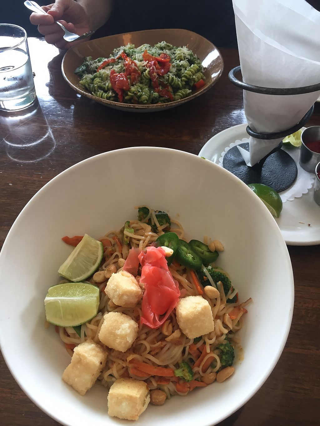 """Photo of Blind Faith Cafe  by <a href=""""/members/profile/Vitaliya"""">Vitaliya</a> <br/>Peanut noodle... spicier than it looks <br/> July 3, 2017  - <a href='/contact/abuse/image/1959/276200'>Report</a>"""