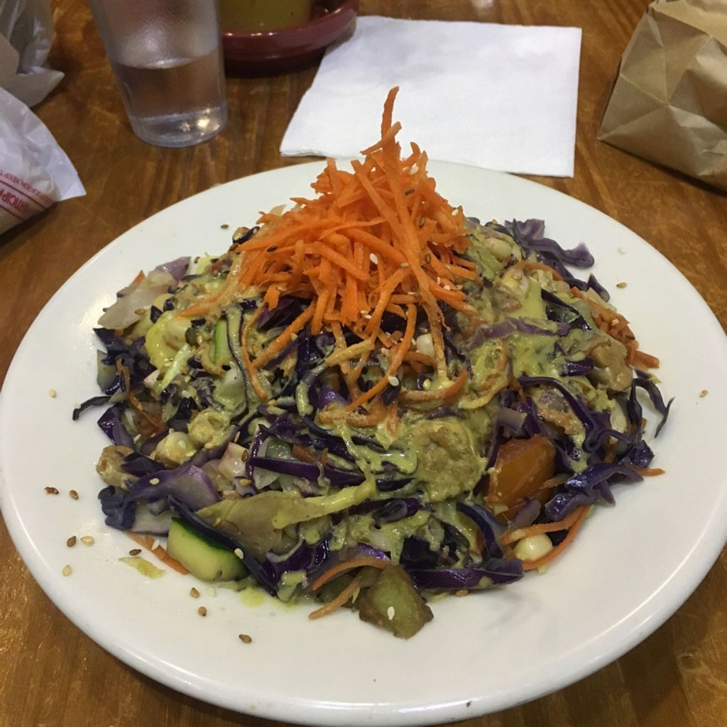 """Photo of Bliss Cafe  by <a href=""""/members/profile/AshleyAutumn"""">AshleyAutumn</a> <br/>teriyaki bowl! <br/> March 3, 2016  - <a href='/contact/abuse/image/19617/138682'>Report</a>"""