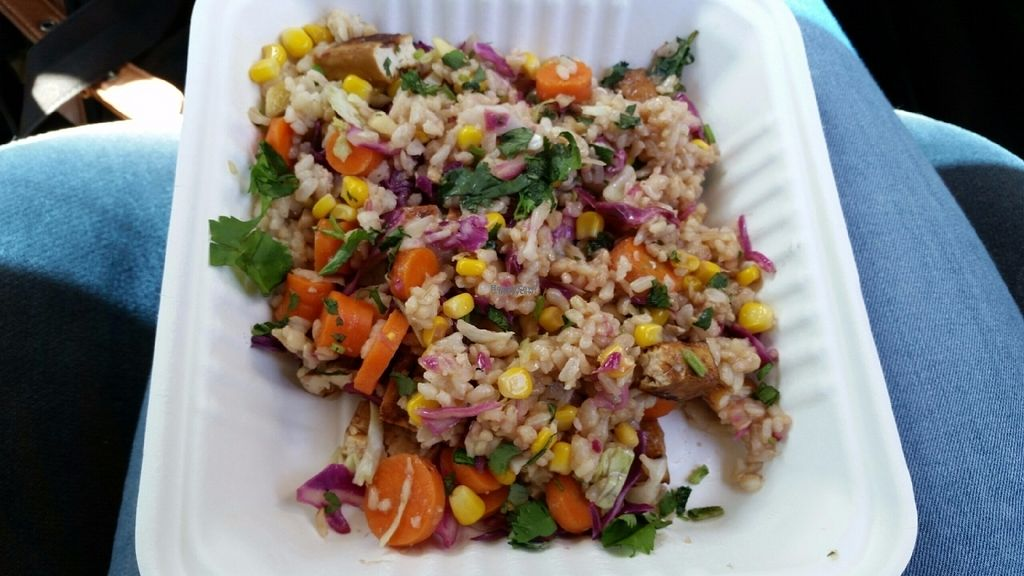 """Photo of Bliss Cafe  by <a href=""""/members/profile/Brenda%20Jauqe"""">Brenda Jauqe</a> <br/>Tamari Stir Fry. Delicious! <br/> October 3, 2016  - <a href='/contact/abuse/image/19617/179388'>Report</a>"""