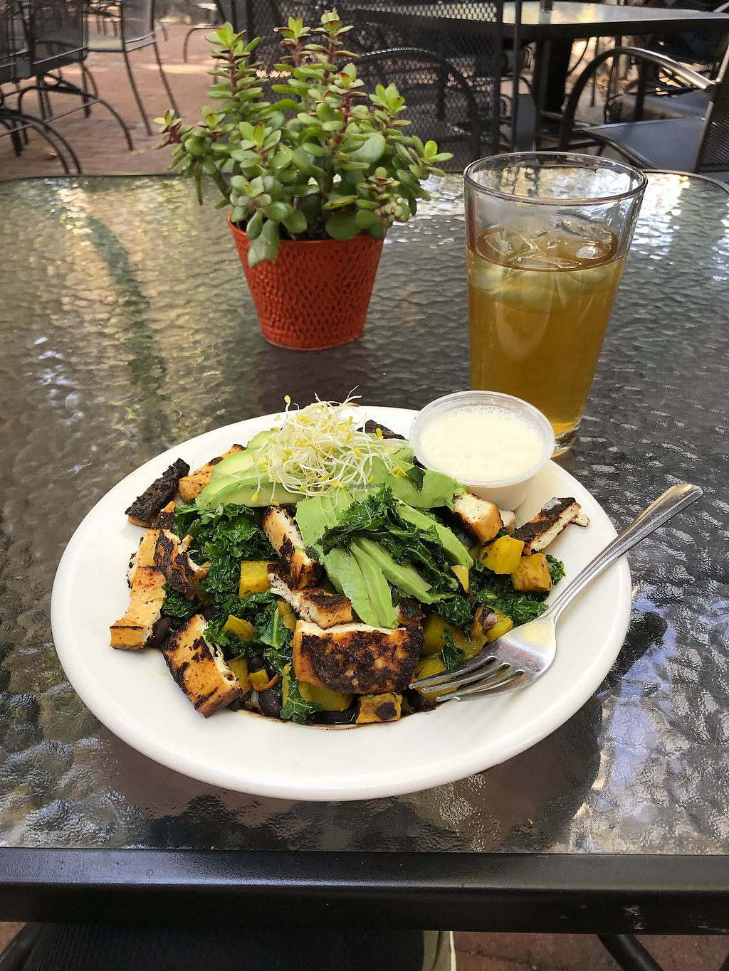 """Photo of Bliss Cafe  by <a href=""""/members/profile/yoga_veg"""">yoga_veg</a> <br/>Buddha Protein Bowl <br/> October 4, 2017  - <a href='/contact/abuse/image/19617/311868'>Report</a>"""