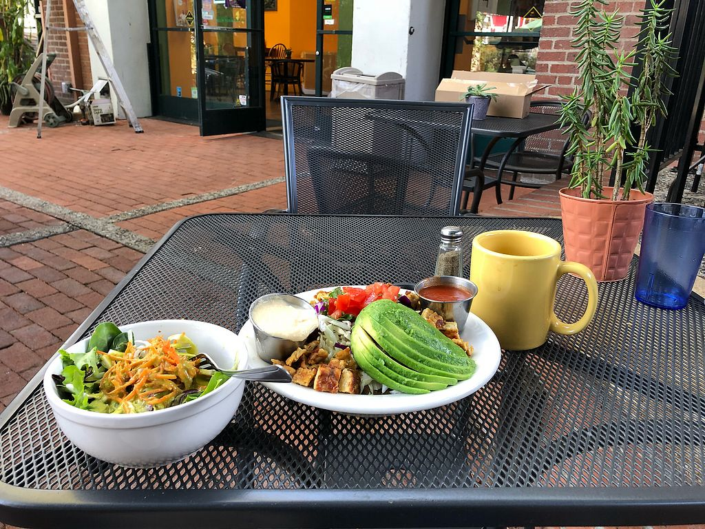 """Photo of Bliss Cafe  by <a href=""""/members/profile/scotteg"""">scotteg</a> <br/>All-day breakfast with grilled tempeh <br/> December 9, 2017  - <a href='/contact/abuse/image/19617/333896'>Report</a>"""